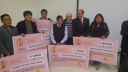 Otorgan 2 millones de soles para investigación científica en universidad de Cusco