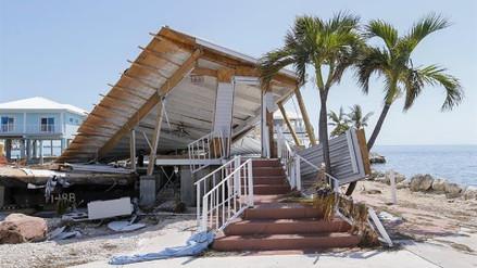 Así quedaron los Cayos de Florida tras el paso de Irma