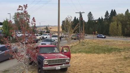 Al menos un muerto y cinco heridos en un tiroteo en una escuela de Washington