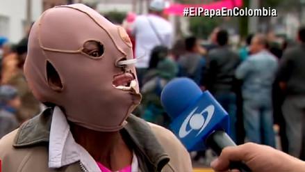 Mujer colombiana desiste de someterse a eutanasia luego de ser abrazada por el papa Francisco