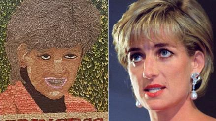 Críticas y burlas en Inglaterra por un retrato de la Princesa Diana