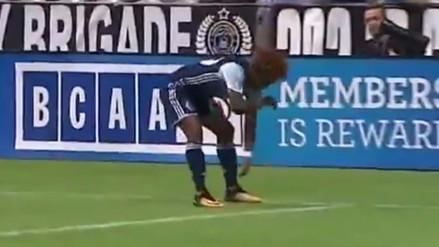 Yordy Reyna anotó un golazo en la MLS y celebró con la 'Garrotera'