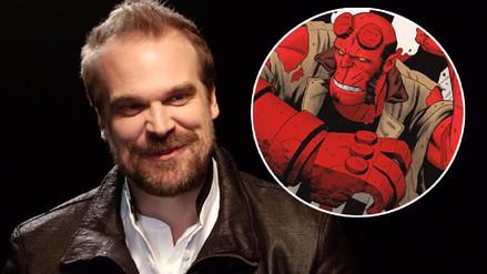 Revelan la primera imagen de David Harbour como Hellboy