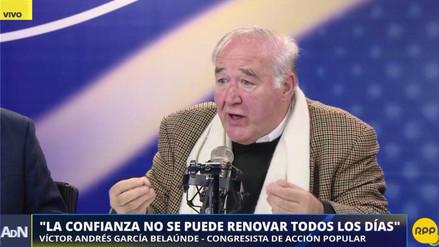 """García Belaunde: """"¿Qué culpa tiene la oposición de que el gabinete 'de lujo' sea de pacotilla?"""""""
