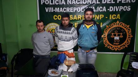 """Desarticulan banda """"Los Colochos de Villa Sol"""" en Ica"""