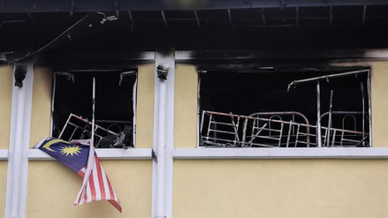 Al menos 24 muertos en un incendio en una escuela musulmana de Malasia