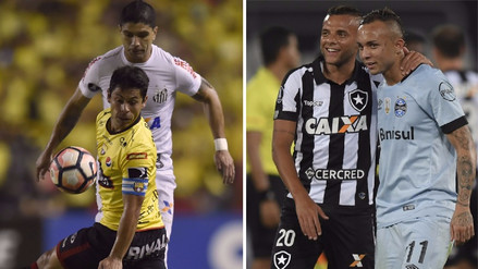 Repasa los resultados de la ida de los cuartos de la Copa Libertadores