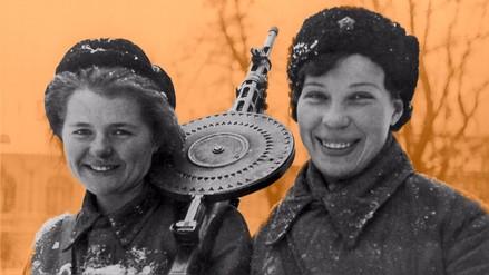 Las mujeres fueron decisivas en la Segunda Guerra Mundial