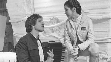 Harrison Ford habló sobre su romance con Carrie Fisher