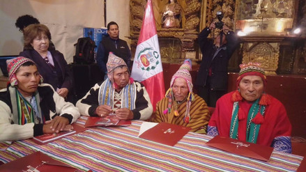 Comuneros de los cuatro suyos narraron cuentos en quechua