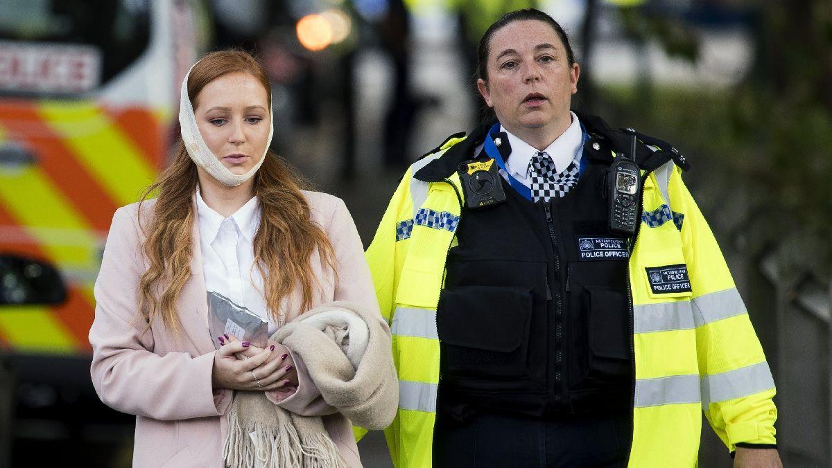 Al menos 22 heridos por una explosión en el metro de Londres