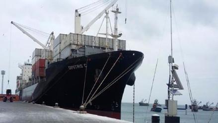 Marina de Guerra incautó 121 paquetes de cocaína a bordo de un barco de Malta