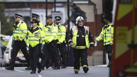 La explosión en el metro de Londres es investigada como un acto terrorista