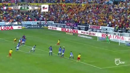 Raúl Ruidíaz perdió un penal en el duelo entre Morelia y Tigres