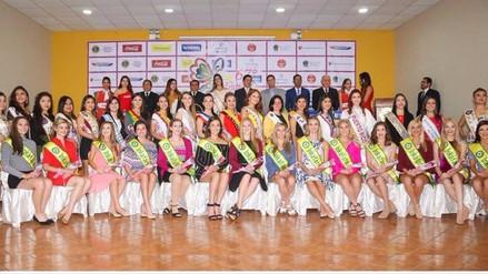 Presentan a reinas del Festival Internacional de la Primavera en Trujillo