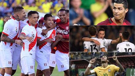 Perú y las selecciones que dependen de sí mismas para ser cabezas de serie en Rusia 2018