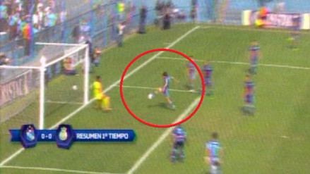Jorge Cazulo falló una ocasión de gol frente al arco de Real Garcilaso