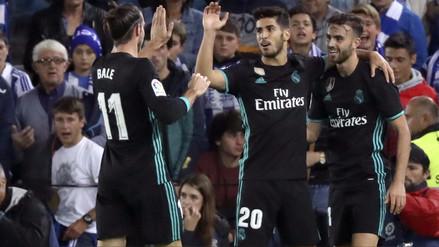Real Madrid venció de visita por 3-1 a la Real Sociedad por La Liga