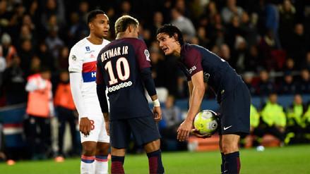 Cavani vs. Neymar: la disputada de los cracks en el triunfo del PSG