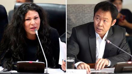 Fuerza Popular abre proceso disciplinario a Yesenia Ponce y Kenji Fujimori