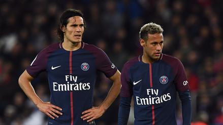 Edinson Cavani habló de la discusión con Neymar por patear las faltas