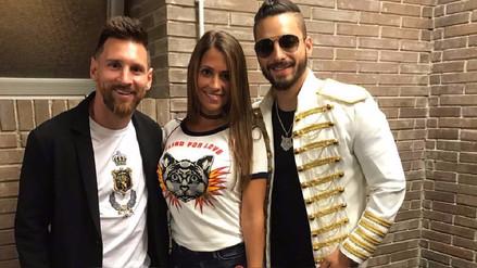 Instagram | Maluma recibe la visita de Lionel Messi