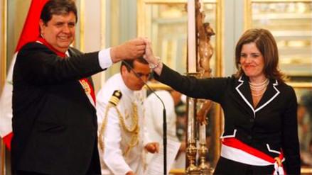 """Alan García: """"Deseamos que el nuevo gabinete recupere tiempo perdido"""""""
