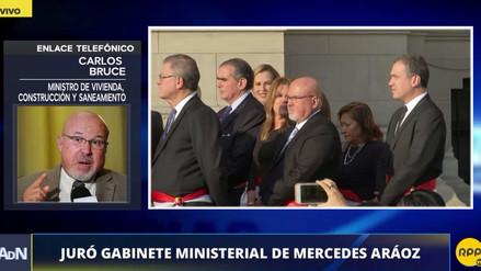"""Carlos Bruce: """"Nuestra prioridad A1 son los damnificados del Fenómeno El Niño"""""""
