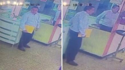 Un hombre robó 2 mil soles de un spa en Cercado de Lima