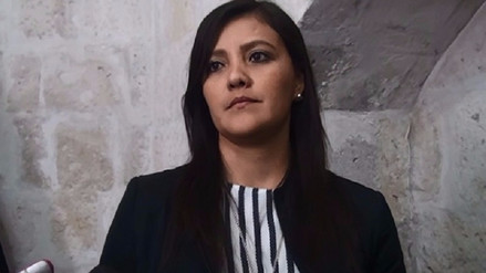 Yamila Osorio tentaría reelección a gobierno regional de Arequipa