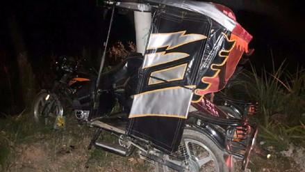 Despiste de mototaxi dejó un muerto en Pátapo