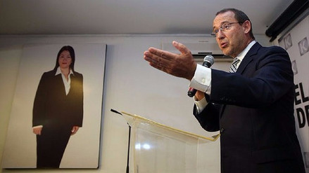 José Chlimper salió en defensa de Keiko Fujimori tras difusión de audio