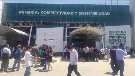 Se inauguró hoy la convención minera Perumin 2017 en Arequipa