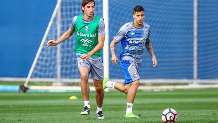 Beto Da Silva entrenó con Gremio pensando en la Copa Libertadores
