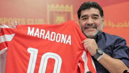 Diego Maradona habló del Argentina vs. Perú por las Eliminatorias
