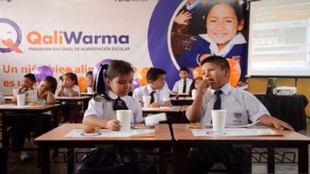 Escolares recibirán alimentos de Qali Warma durante recuperación de clases