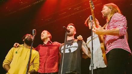 Instagram | Maroon 5 e Incubus ya están en Lima