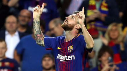 Un Lionel Messi imparable guía la goleada del Barcelona sobre el Eibar