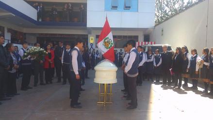 Compañeros y profesores de menor asesinado rinden homenaje y exigen justicia