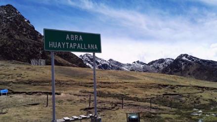 Huancayo: Hallan feto en el nevado Huaytapallana