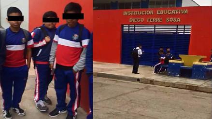 Chiclayo: impiden ingreso de escolares por no usar zapatillas blancas