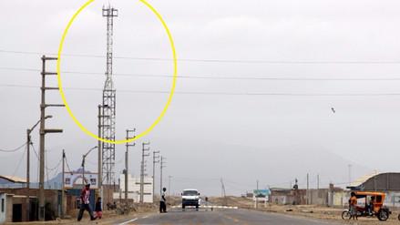Más sitios lambayecanos con acceso al servicio de telefonía e internet