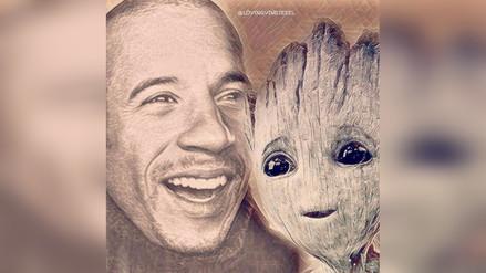 Instagram | Vin Diesel publica extraña fotografía de 'Groot'
