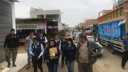 Chimbote: mercado es cerrado por usar agua contaminada con restos fecales