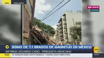 """Periodista mexicano: """"La alarma sísmica no funcionó"""""""