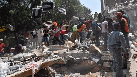 Fotos | Así quedó Ciudad de México tras el sismo de magnitud 7.1