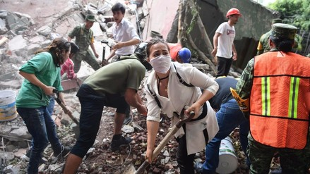 Expertos atribuyen los dos terremotos en México a sus cinco placas tectónicas
