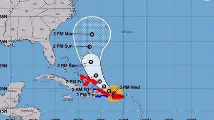 ¿Por qué es tan mortífero el huracán María, pese a ser más pequeño que Irma?