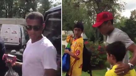 El emotivo gesto de Ruidíaz y Polo con las víctimas del terremoto en México