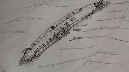 Hallan un submarino que utilizó Alemania en la Primera Guerra Mundial